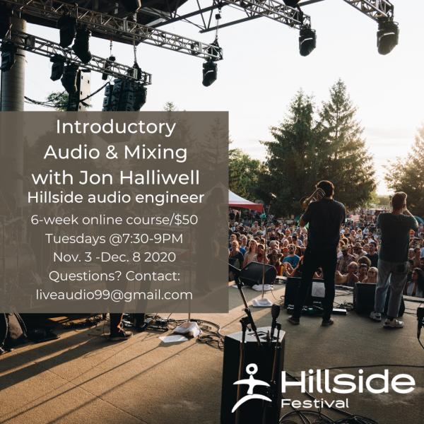 6 week online audio mixing course
