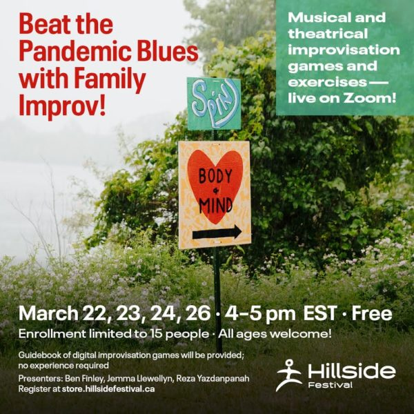 Beat the pandemic blues with free improv workshops for the family