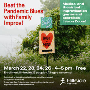 Beat the pandemic blues with family improv.
